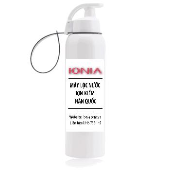 Bình đựng nước ion kiềm màu trắng